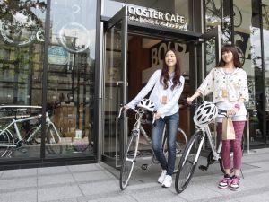 ... 自転車さんぽ「ポタリング : 自転車 服装 女性 夏 : 自転車の