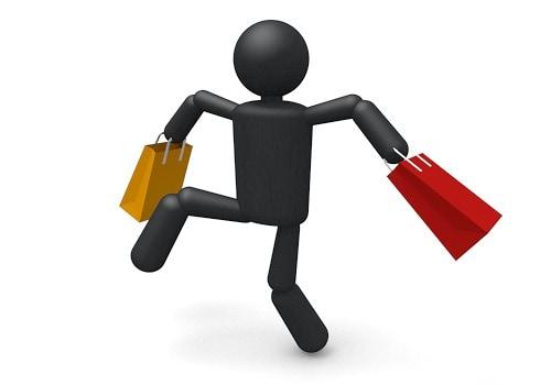 拡大画像: ショッピングをして ...