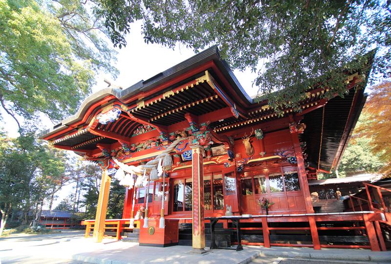 冠稲荷神社の拝殿
