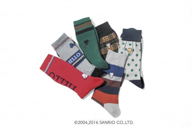 MARCOMONDE 靴下 2,808~3,024円