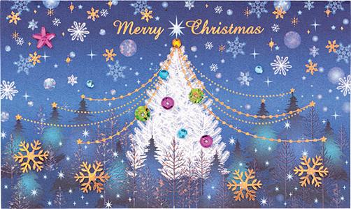 カード バースデーカード 無料 ダウンロード : 画像 : クリスマス・冬・雪景色 ...