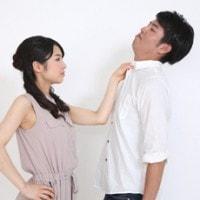彼氏を叱っている女子