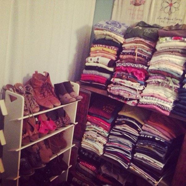 服と靴の収納