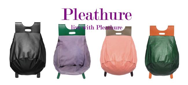 Pleathureのバックパック