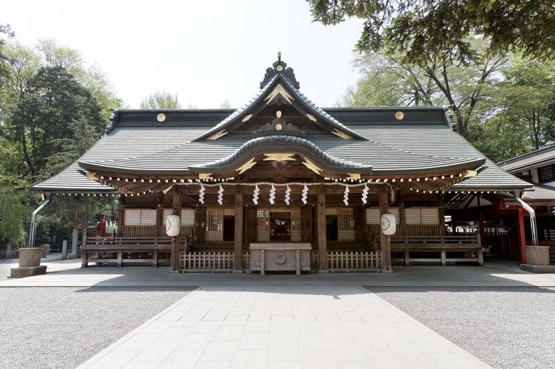 大國魂神社拝殿