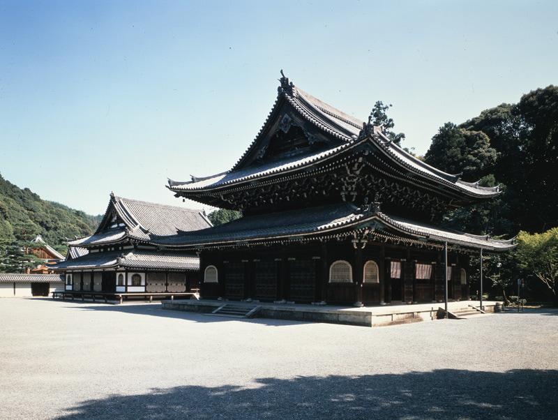 泉涌寺の仏殿舎利殿