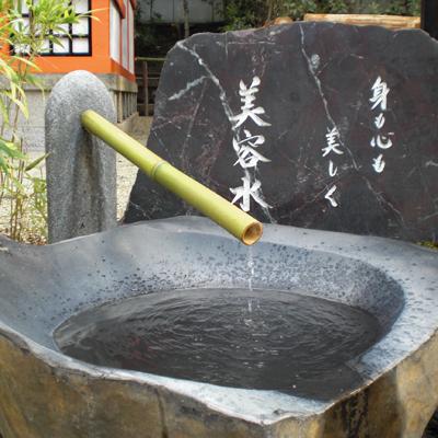 八坂神社の美御前社の「美容水」