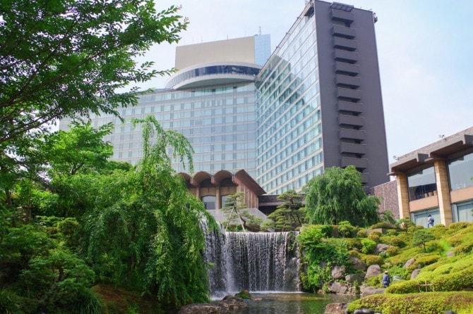 ホテルニューオータニ(東京)。